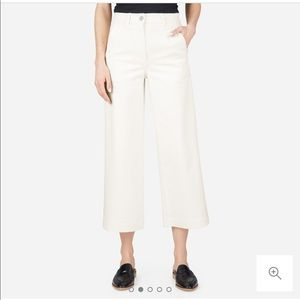 Everlane Wide Leg Crop Pant -Every blogger has it!